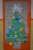 Konkurs na świąteczną dekorację drzwi sali